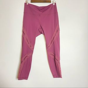 Lululemon cropped leggings 12